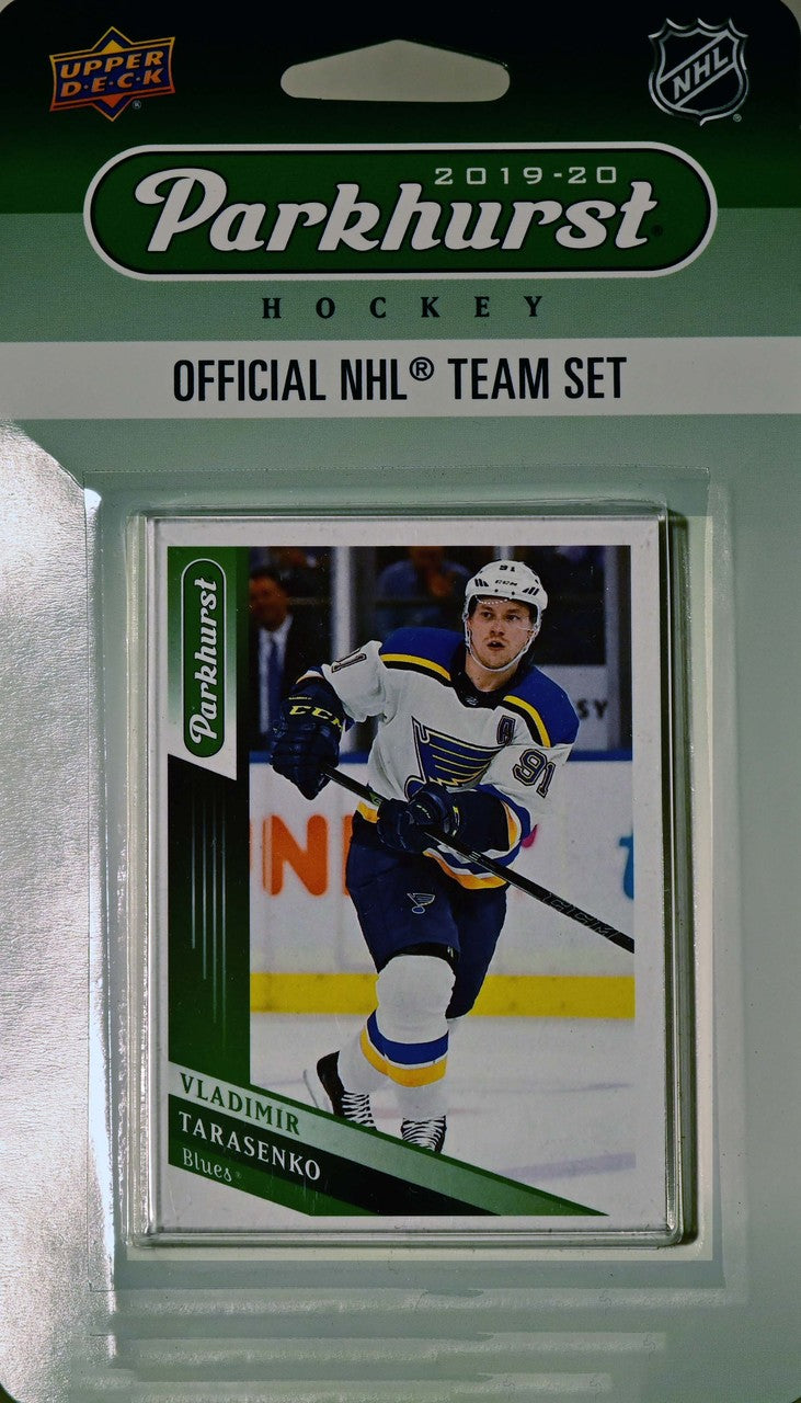 St. Louis Blues 2019 2020 Upper Deck PARKHURST Factory Sealed Team Set