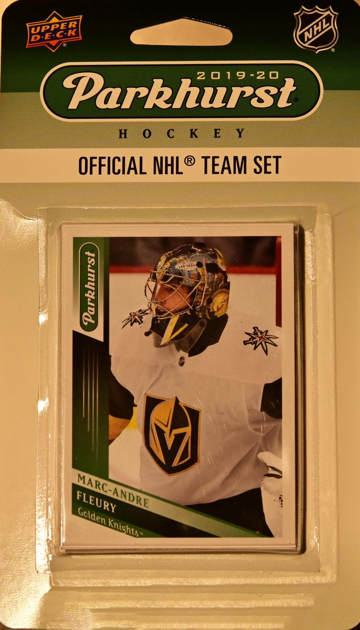 Vegas Golden Knights  2019 2020 Upper Deck PARKHURST Factory Sealed Team Set