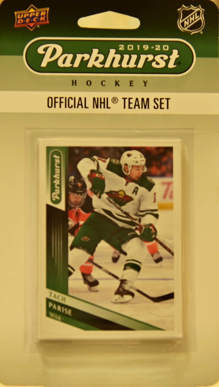 Minnesota Wild 2019 2020 Upper Deck PARKHURST Factory Sealed Team Set
