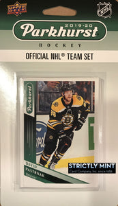 Boston Bruins 2019 2020 Upper Deck PARKHURST Factory Sealed Team Set