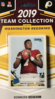 Washington Redskins 2019 Donruss Factory Sealed Team Set