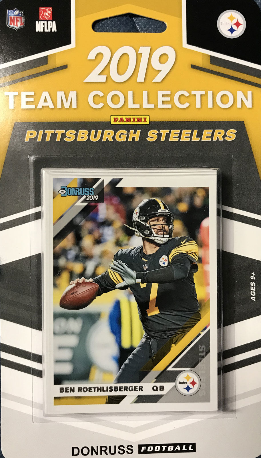 Pittsburgh Steelers 2019 Donruss Factory Sealed Team Set