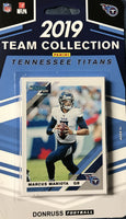 Tennessee Titans  2019 Donruss Factory Sealed Team Set