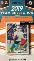 Miami Dolphins 2019 Donruss Factory Sealed Team Set