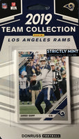 Los Angeles Rams 2019 Donruss Factory Sealed Team Set
