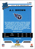 Tennessee Titans  2019 Donruss Factory Sealed Team Set with AJ Brown Rated Rookie Card