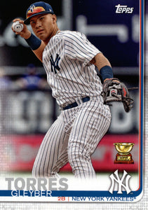 New York Yankees 2019 Topps Factory Sealed 17 Card Team Set