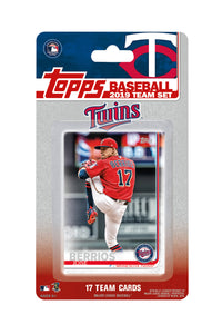 Minnesota Twins 2019 Topps Factory Sealed 17 Card Team Set