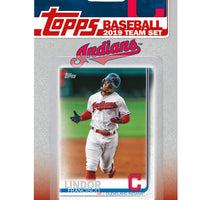 Cleveland Indians 2019 Topps Factory Sealed 17 Card Team Set