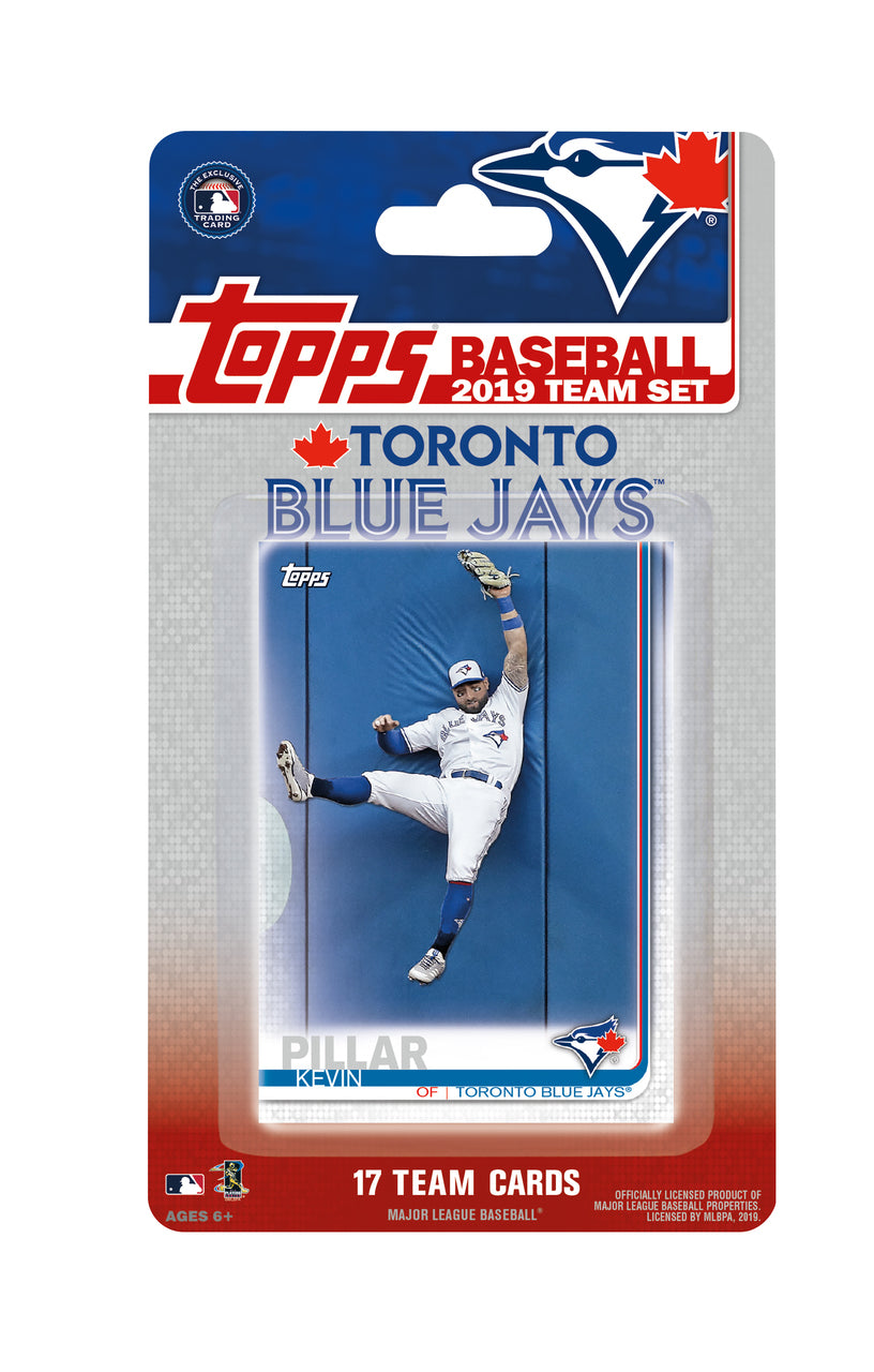 Toronto Blue Jays 2019 Topps Factory Sealed 17 Card Team Set