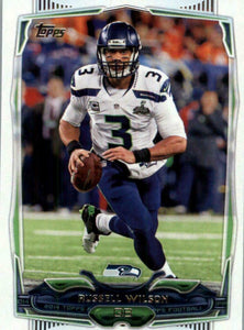 Russell Wilson 2014 Topps Series Mint Card #32