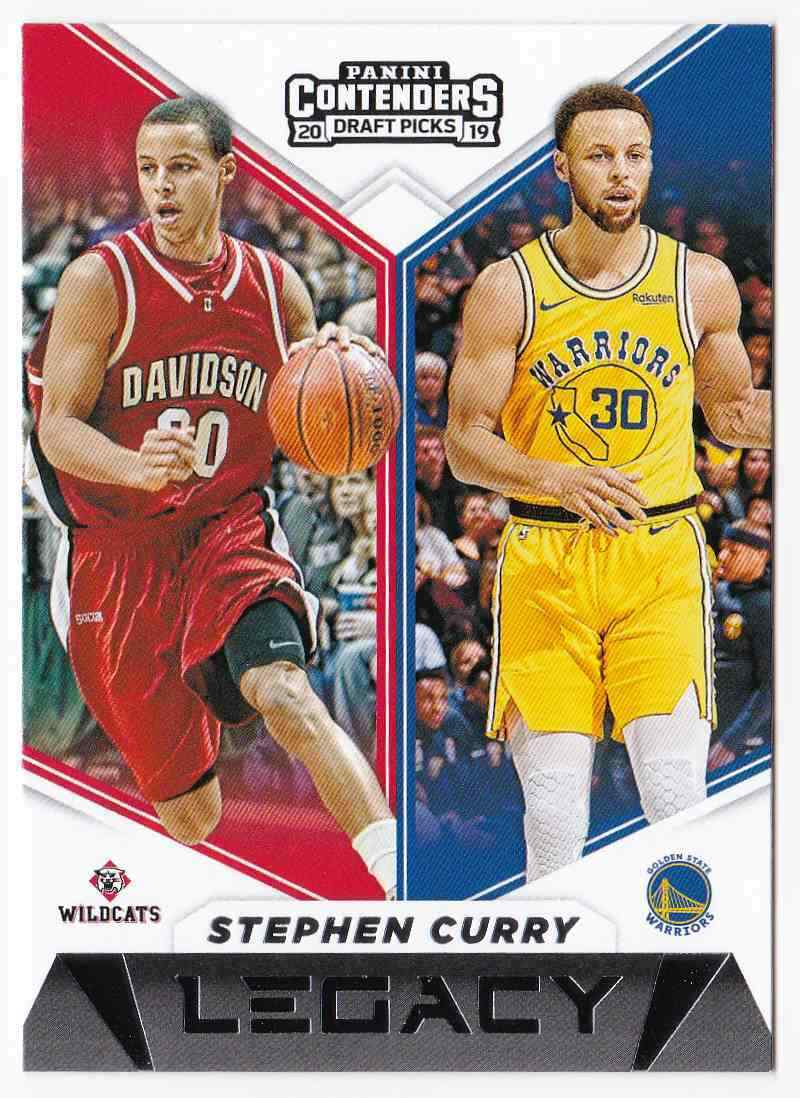 Stephen Curry 2019 2020 Panini Contenders Draft Picks Legacy Basketball Series Mint Card #12