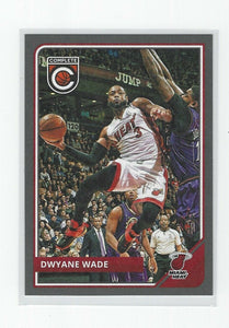 Dwyane Wade 2015 2016 Panini Complete SILVER Parallel Series Mint Card #61
