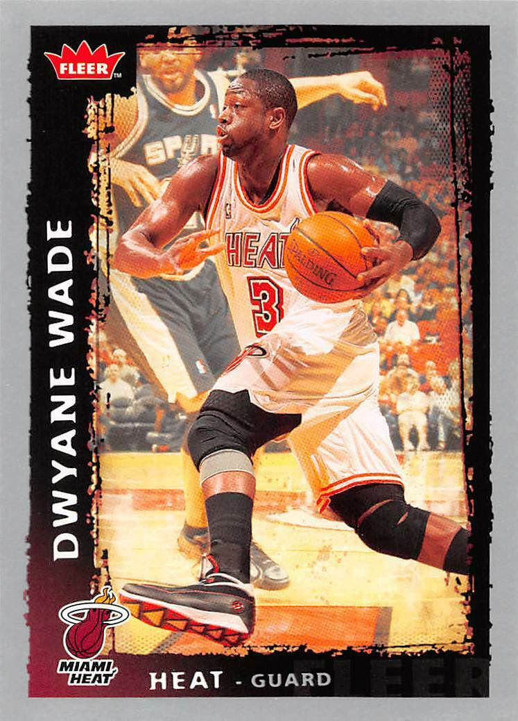 Dwyane Wade 2008 2009 Fleer Series Mint Card #95