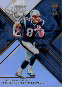 Rob Gronkowski 2016 Donruss Elite NFL Football Mint Card #15