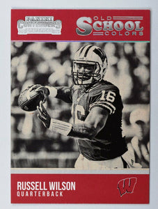 Russell Wilson 2016 Panini Contenders Draft Picks Old School Colors Series Mint Card #232