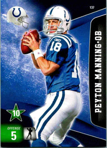 Peyton Manning 2011 Panini Adrenalyn XL Series Mint Card #137
