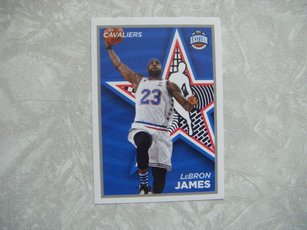 LeBron James 2015 2015 Panini Sticker Basketball Series Mint Card #431