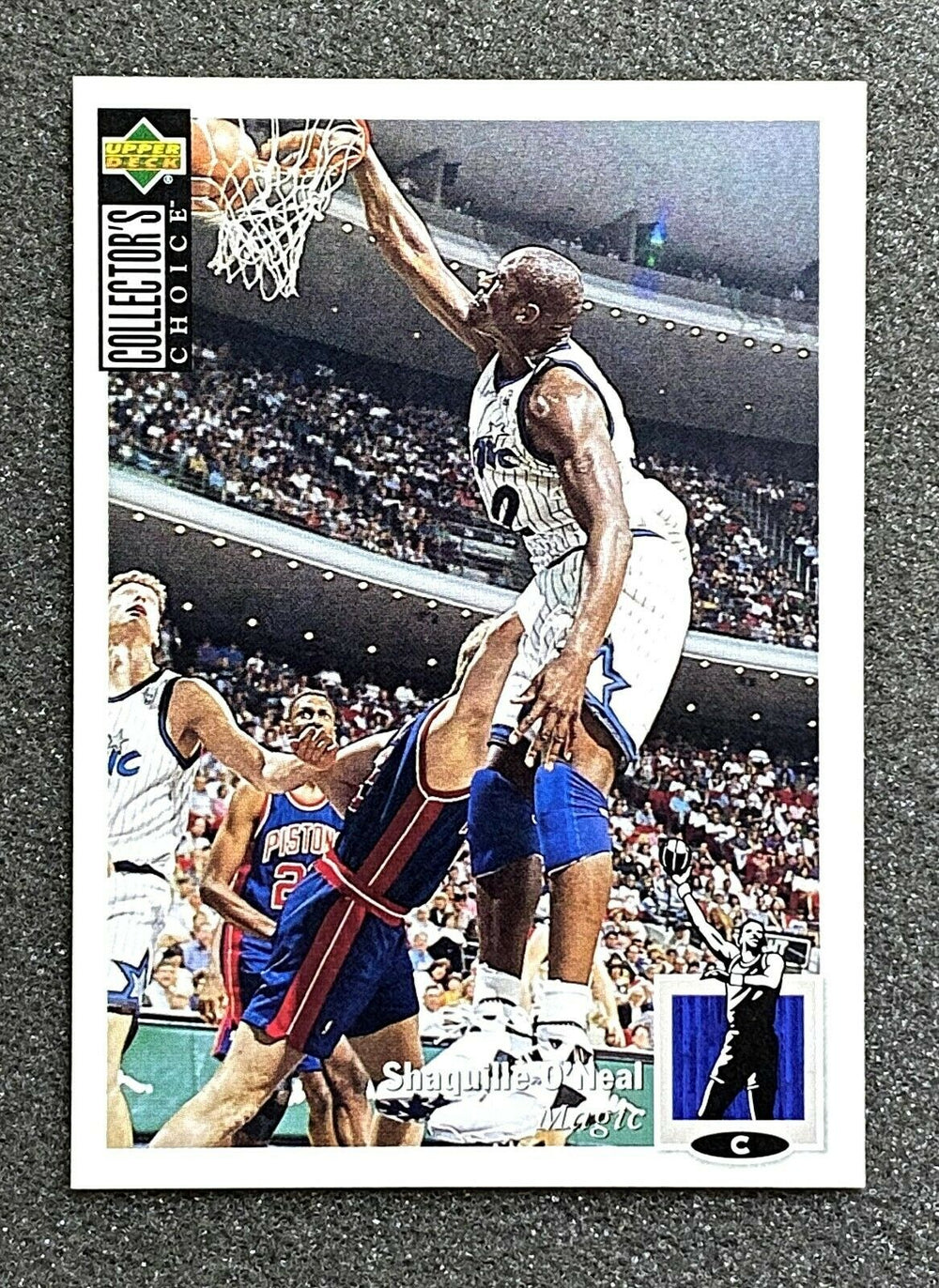 Shaquille O'Neal 1994 1995 Upper Deck Collector's Choice International Japanese Version Series Mint Card #232