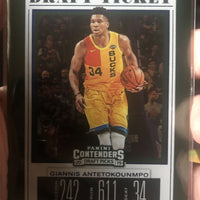 Giannis Antetokounmpo 2019 2020 Panini Contenders Draft Picks Draft Ticket Series Mint Card #17