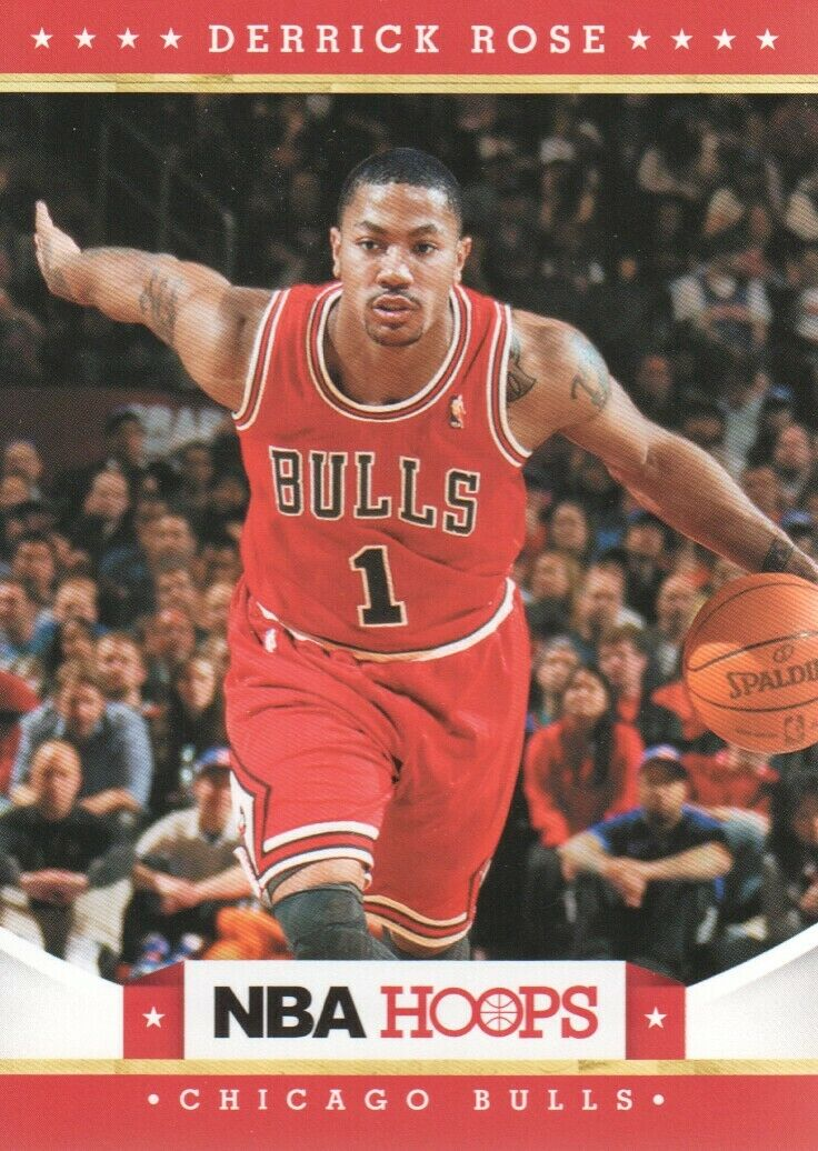 Derrick Rose 2012 2013 Hoops Mint Series Card #75
