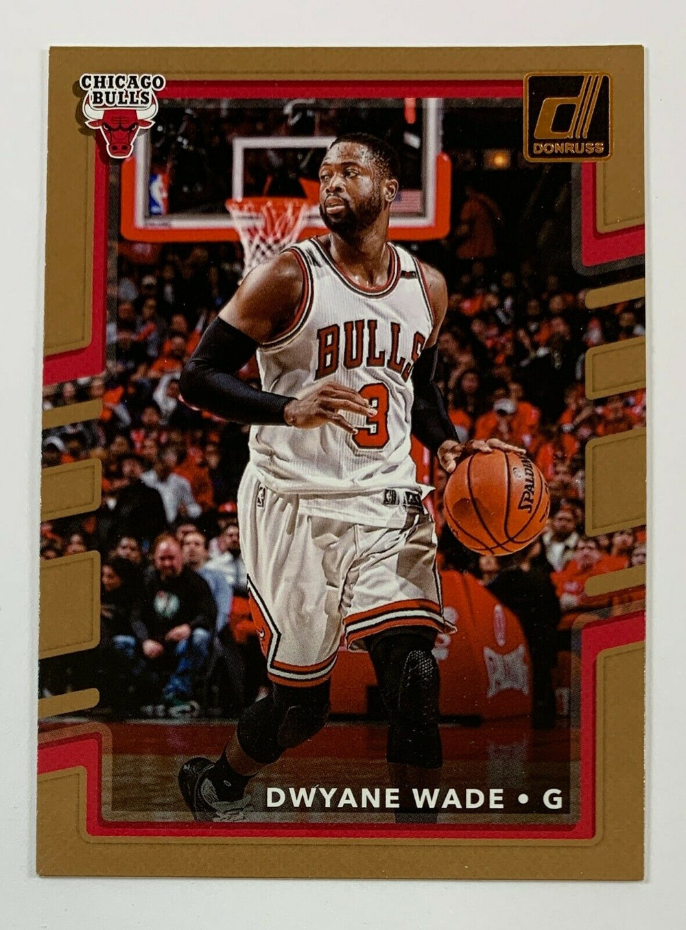 Dwyane Wade 2017 2018 Panini Donruss Series Mint Card #25