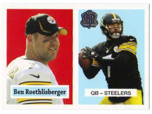Ben Roethlisberger 2015 Topps 60th Anniversary Throwbacks Series Mint Card  #T60-BR