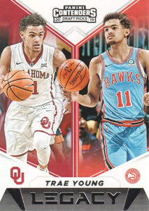 Trae Young 2019 2020 Panini Contenders Draft Picks Legacy Series Mint Card #20