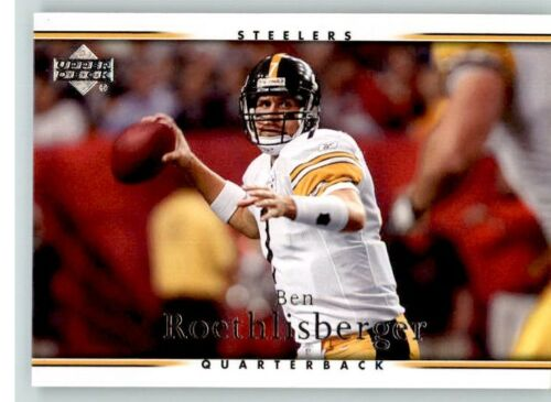 Ben Roethlisberger 2007 Upper Deck Series Mint Card#150