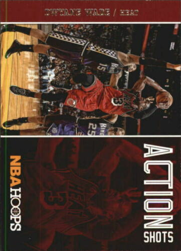 Dwyane Wade 2013 2014 Hoops Action Shots Series Mint Card #2