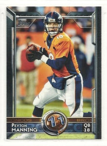 Peyton Manning 2015 Topps Series Mint Card #359