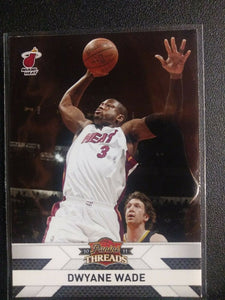 Dwyane Wade 2010 2011 Panini Threads  Series Mint Card #137