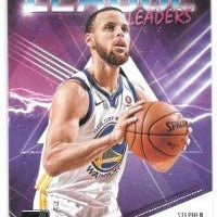Stephen Curry 2018 2019 Donruss League Leaders Series Mint Card #8