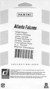Atlanta Falcons 2020 Donruss Factory Sealed Team Set