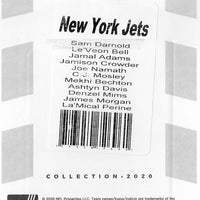 New York Jets 2020 Donruss Factory Sealed Team Set