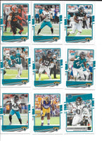 Jacksonville Jaguars 2020 Donruss Factory Sealed Team Set with 4 Rated Rookie Cards including Laviska Shenault Jr