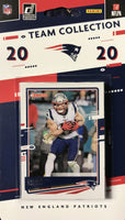 New England Patriots 2020 Donruss Factory Sealed Team Set with 4 Rookie Cards