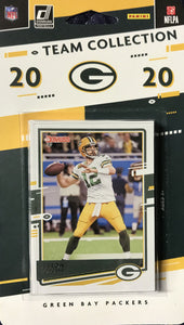 2020 DONRUSS Football COMPLETE Run of 31 Different Individual Team Sets including Chiefs, Patriots, Cowboys, Packers, Bengals, Dolphins and 25 Others