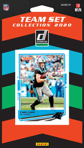 Carolina Panthers  2020 Donruss Factory Sealed Team Set with 3 Rookie Cards