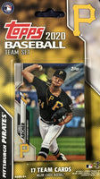 Pittsburgh Pirates 2020 Topps Factory Sealed 17 Card Team Set