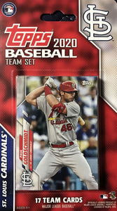 St Louis Cardinals 2020 Topps Factory Sealed 17 Card Team Set