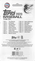 Baltimore Orioles 2020 Topps Factory Sealed 17 Card Team Set