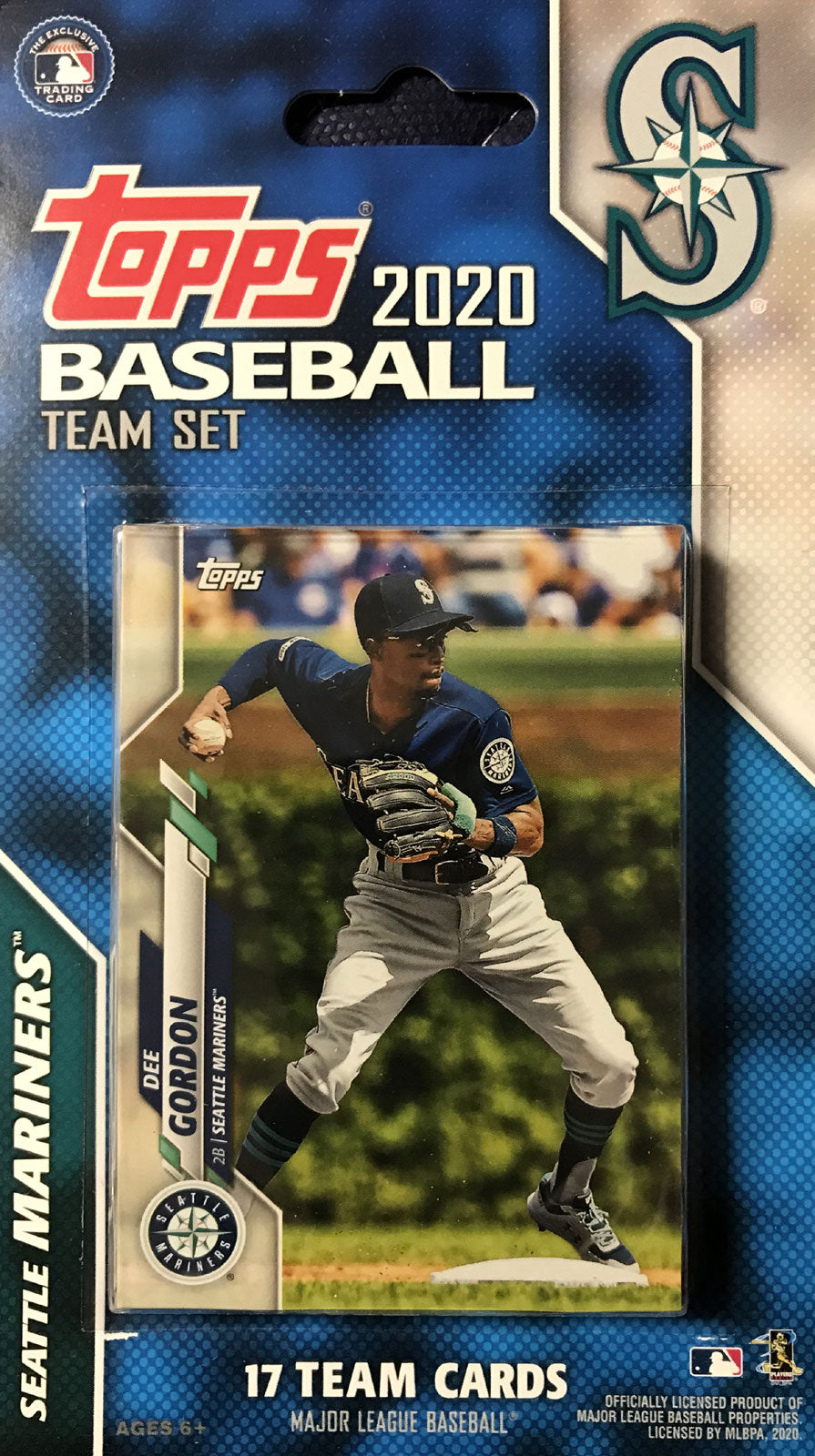 Seattle Mariners 2020 Topps Factory Sealed 17 Card Team Set