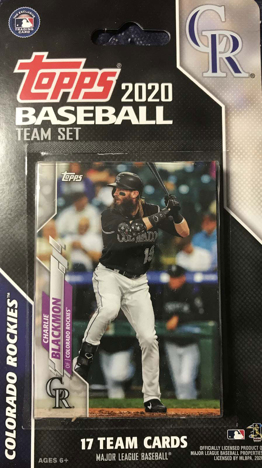Colorado Rockies 2020 Topps Factory Sealed 17 Card Team Set