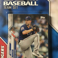 Texas Rangers 2020 Topps Factory Sealed 17 Card Team Set