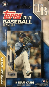 Tampa Bay Rays 2020 Topps Factory Sealed 17 Card Team Set