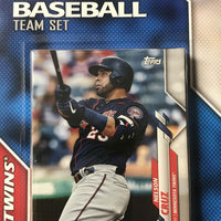 Minnesota Twins 2020 Topps Factory Sealed 17 Card Team Set