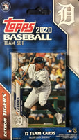 Detroit Tigers 2020 Topps Factory Sealed 17 Card Team Set