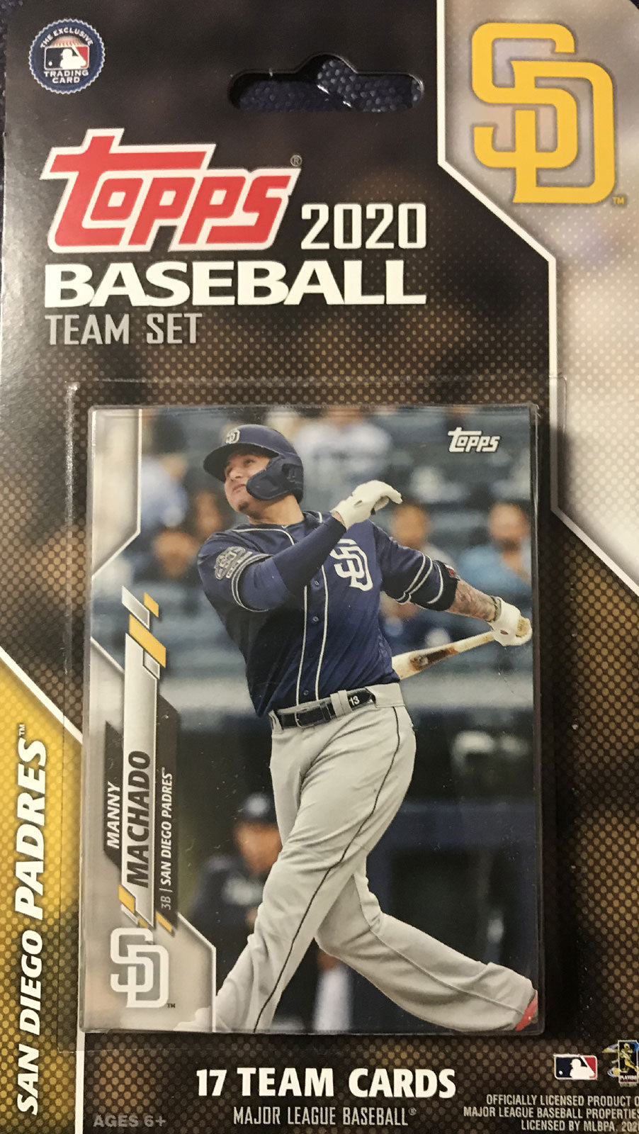 San Diego Padres 2020 Topps Factory Sealed 17 Card Team Set with Fernando Tatis Jr All Star Rookie Plus