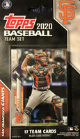 San Francisco Giants 2020 Topps Factory Sealed 17 Card Team Set